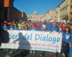 I Pontieri del Dialogo alla Run for Peace di Roma 2018